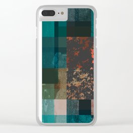 PAST FORWARD Clear iPhone Case