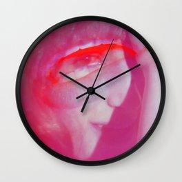 Linda Scott's Minty Eye Wall Clock