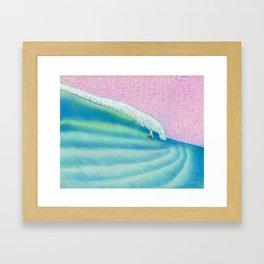 MOONMAN X BIGWAVE 2 Framed Art Print