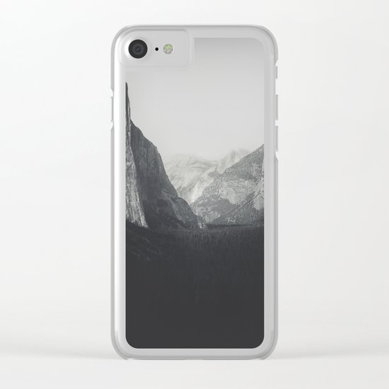 Yosemite alley VI Clear iPhone Case