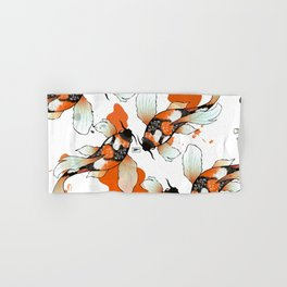 Koi Meditation Hand & Bath Towel