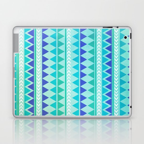 Winter Aztec Pattern Laptop & iPad Skin