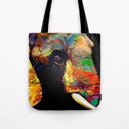 elephant face Tote Bag