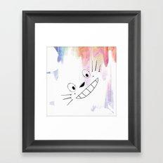 Totoro Love Framed Art Print