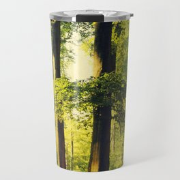 Forest in Evening Light Travel Mug