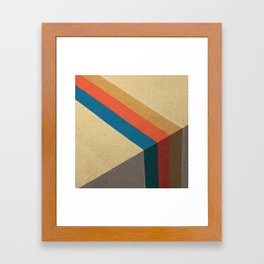 Direction Change Framed Art Print