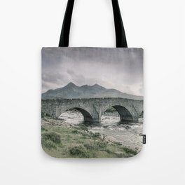The Bridge and the Cuillin Tote Bag