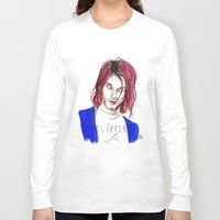 kurt rahn Long Sleeve T-shirts featuring Kurt no,6 by Lucas David