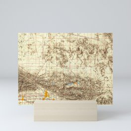 CA San Bernardino 299870 1953 Topographic Map Mini Art Print