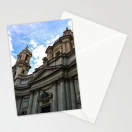 Church 2, Piazza Navona, Rome Stationery Cards