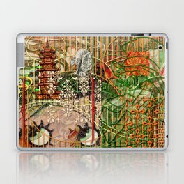 The Interlocking Mechanism of Compartmentalization Laptop & iPad Skin