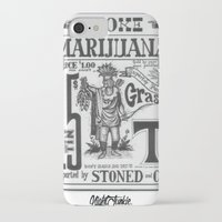 marijuana iPhone & iPod Cases featuring SMOKE MARIJUANA by NIGHTJUNKIE