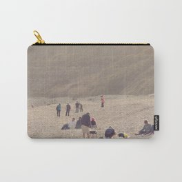 sandy sausages by the sea shore... Carry-All Pouch