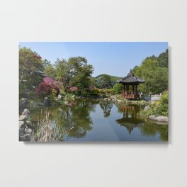 The Garden of the Morning Calm, Korea Metal Print