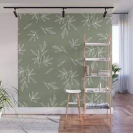 Olive in Olive Wall Mural
