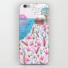 Cliff Top Cabin iPhone & iPod Skin