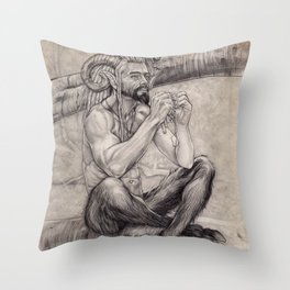 Faun Throw Pillow
