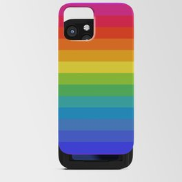 Solid Rainbow iPhone Card Case