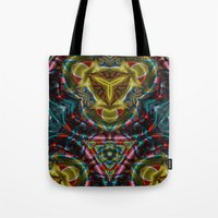 dress Tote Bags featuring Dress by RingWaveArt