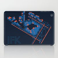 60s iPad Cases featuring New York (JFK) - 60s by Kyle Rodgers