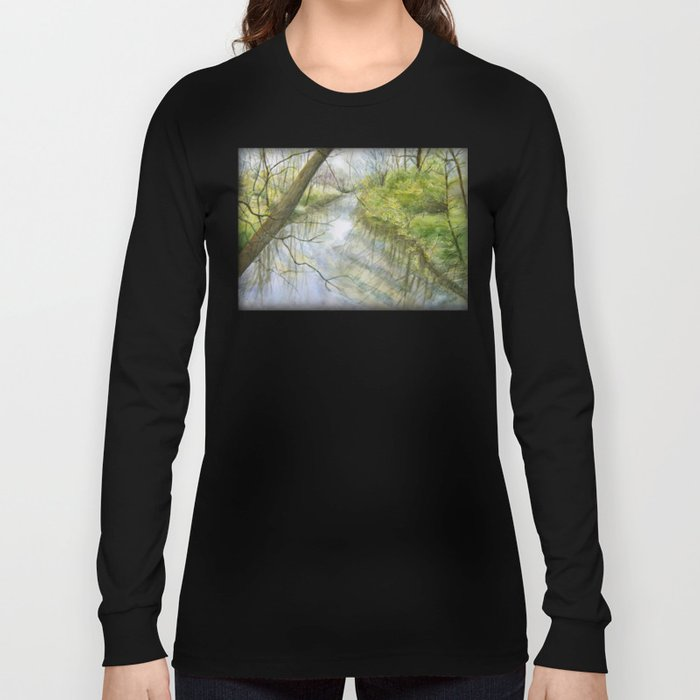 Root River at Racine Long Sleeve T-shirt
