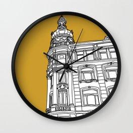 Mustard Cph Wall Clock