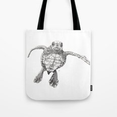 Chelonioidea (the turtle) Tote Bag
