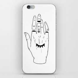 Occult Hand iPhone Skin