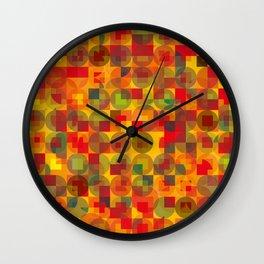 Appley Panoply Wall Clock