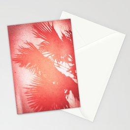Palms, Light Leak, Color Explosion Stationery Cards
