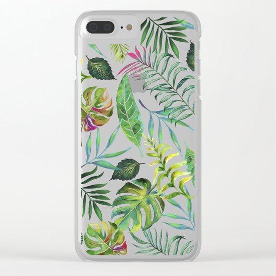 Tropical Flora #society6 #decor #buyart Clear iPhone Case