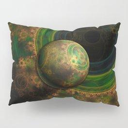 TikTok's Four-Dimensional Steampunk Time Contraption Pillow Sham