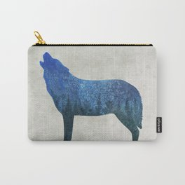 Howling wolf forest II Carry-All Pouch