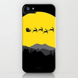Night series - Merry Christmas iPhone Case