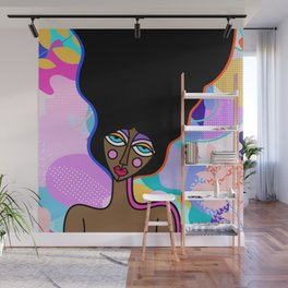 Tropical Beauty Wall Mural