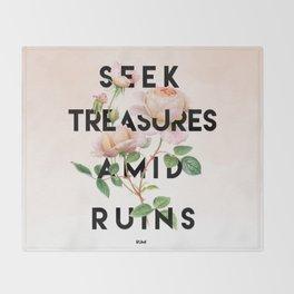Seek Treasure Throw Blanket