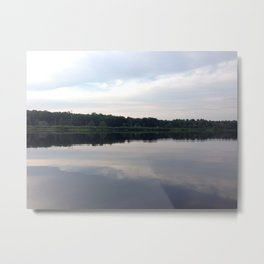 Baesic Reflective Lake Metal Print