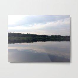 Baesic Reflective Lake Metal Print