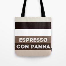 Espresso con panna Tote Bag