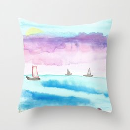 skyscapes 1 Throw Pillow