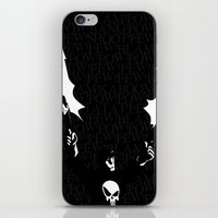 punisher iPhone & iPod Skins featuring The Punisher by Rob O'Connor