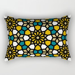 Persian Mosaic – Marigold Palette Rectangular Pillow