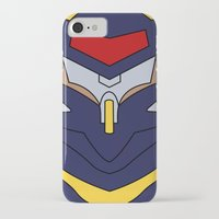 evangelion iPhone & iPod Cases featuring Evangelion Mark.06 by Bunny Frost