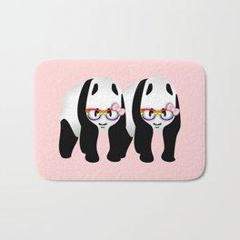 Lesbian  Gay Pride Pandas Bath Mat