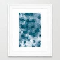 gem Framed Art Prints featuring gem by annmariep