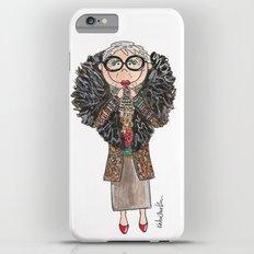 Little Iris Apfel iPhone 6 Plus Slim Case