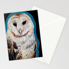 Barn Owl 3 Stationery Cards