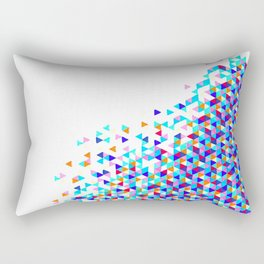 Blue Funfetti Lagoon Rectangular Pillow