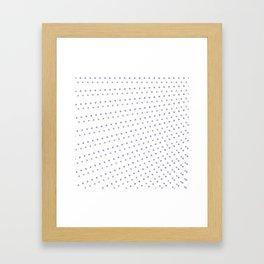 Dot background #society6 #decor #buyart #artprint Framed Art Print