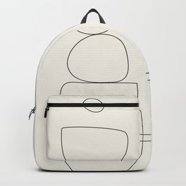Minimal Abstract Shapes 03 Backpack